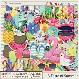 A Taste of Summer (page kit)