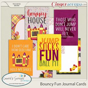 Bouncy Fun Journal Cards