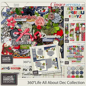 360°Life All About December Collection by Aimee Harrison