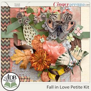 Fall in Love Petite Kit by ADB Designs