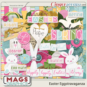 Easter Eggstravaganza KIT by MagsGraphics