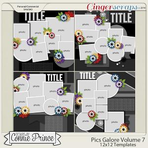 Pics Galore Volume 7 - 12x12 Temps (CU Ok)