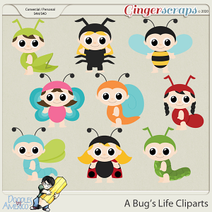 Doodles By Americo: A Bug's Life Cliparts