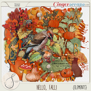 Hello, Fall! Elements
