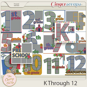 The Cherry on Top:  K Through 12 Templates