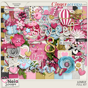 Lovely - Full Kit - by Neia Scraps