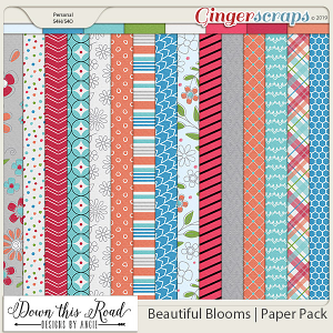 Beautiful Blooms | Paper Pack