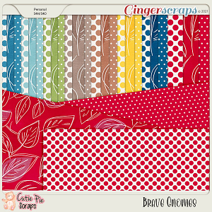 Brave Gnomes Pattern Papers