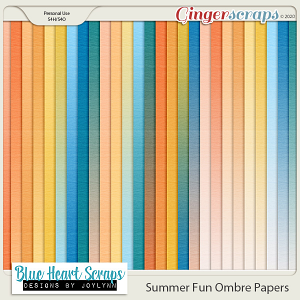 Summer Fun Ombre Papers