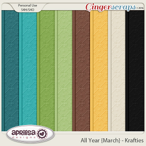 All Year {March} - Krafties