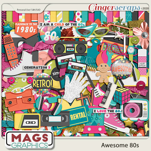 Awesome 80s KIT by MagsGraphics