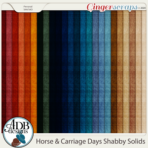 Horse & Carriage Days Solid Papers by ADB Designs