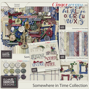Somewhere in Time Collection by Aimee Harrison