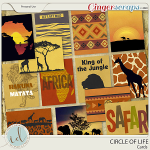 Circle Of Life Cards by Ilonka's Designs