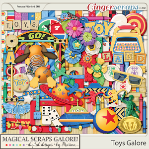 Toys Galore (page kit)